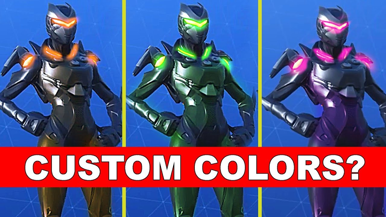 New Oblivion Skin Girl Omega In Fortnite Can We Change Colors