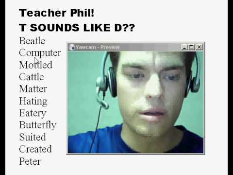 T Sounds Like D? Learn American Accent English Lesson