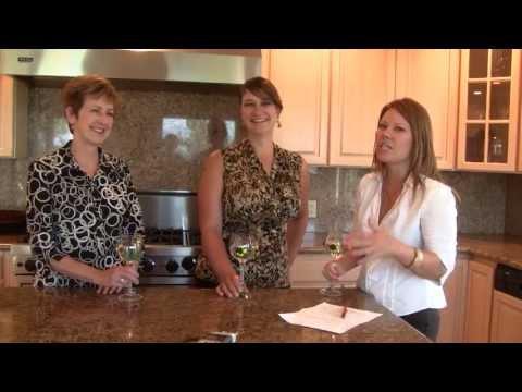 Natalie Yanish and Ellen Camacho of Deb Howard realtors show us the Mackey house
