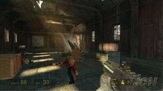 The Orange Box PlayStation 3 Gameplay - Half-Life 2: