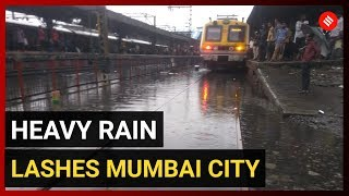 Heavy rain lashes Mumbai City