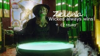 OUAT 6x20 Zelena sing ''Wicked Always Wins'' +CZ titulky HD