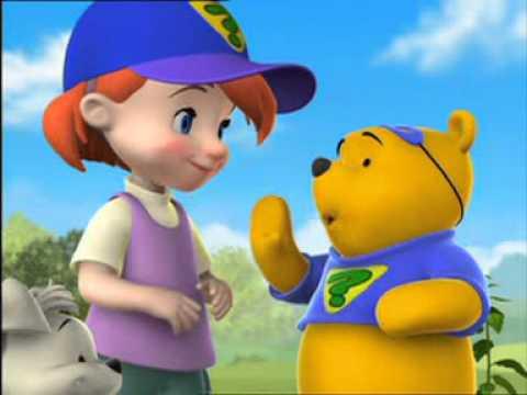 การ์ตูนหมีพูห์ ตอน The Incredible Shrinking Roo
