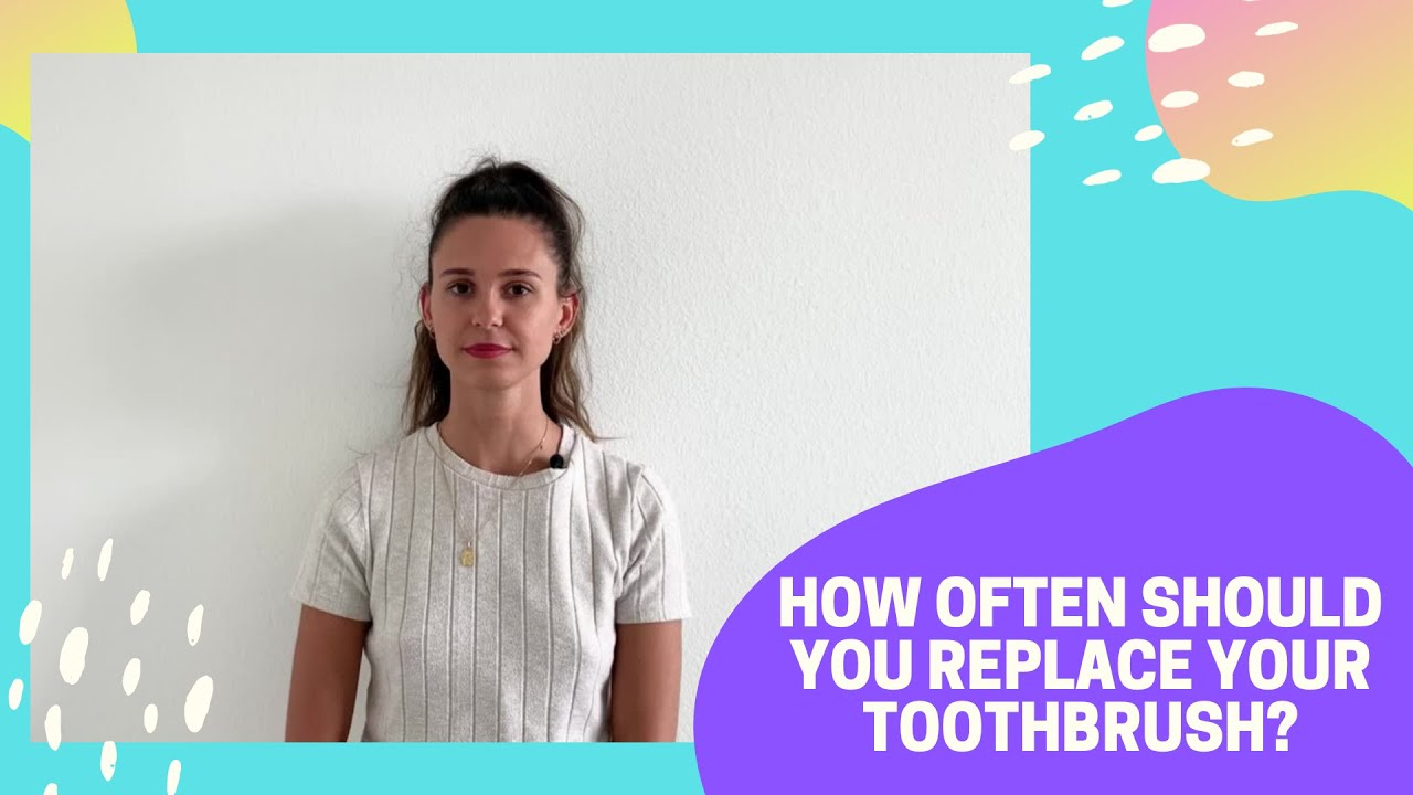 How often should you replace your toothbrush? - YouTube