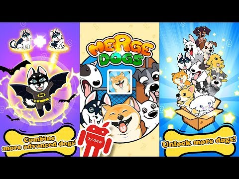 Merge Dogs - Cats 🐱 vs Dogs 🐶 - Gameplay Online and Offline [1080p] X-View