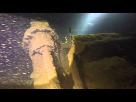 Scuba diving Chuuk Truk Lagoon wreck Rio de janeiro Maru