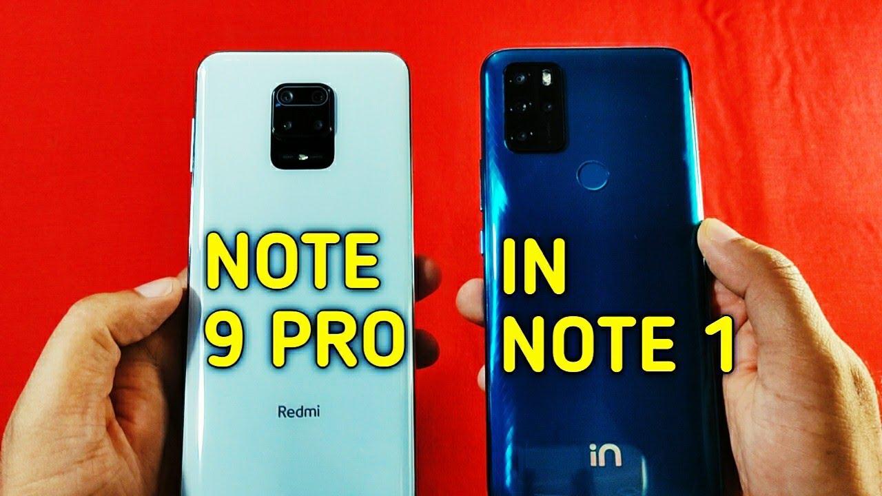 Micromax IN NOTE 1 vs Redmi Note 9 Pro Speed Test & Camera Comparison | 🔥🔥