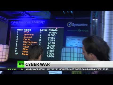 Cyber War: Top hackers compete in global battle of digital wits in Moscow