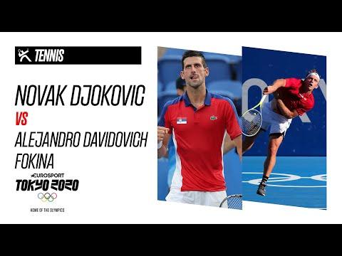 NOVAK DJOKOVIC vs ALEJANDRO DAVIDOVICH FOKINA | Tennis - Highlights | Olympic Games - Tokyo 2020