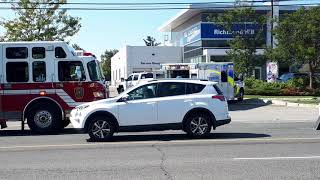 Part 2 York Region EMERGENCY services working a bad accident