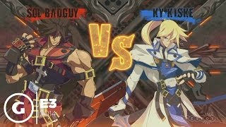 Guilty Gear Xrd -SIGN- Stage Demo - E3 2014