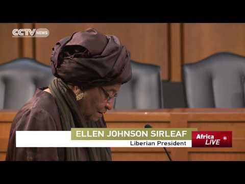 Liberia's President Urges U.S. To Continue Ebola Aid