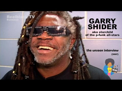 Garry Shider  The Unseen  2007  Diaperman Starchild Uncut Funk