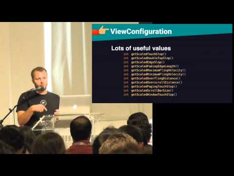 Droidcon NYC 2015 - Making Sense of the Touch System