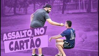PEGADINHA - ASSALTANTE QUE ACEITA CARTÃO DE CRÉDITO! #DESAFIO 86