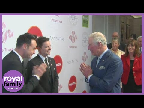Prince Charles Greets Celebrities With Namaste Gesture at Prince's Trust Awards