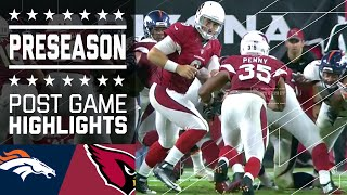 Broncos vs. Cardinals | Game Highlights | NFL