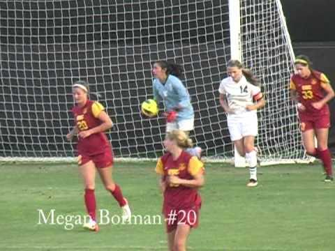 Megan Borman USC Soccer highlight video 2012 - YouTube