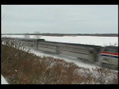 Trains Along the Upper Mississippi River Vol. 1