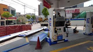 수원 팔달구 화서동 셀프 주유소 앰프 스피커 마이크 설…