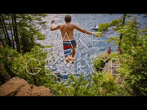 New York Cliff Jumping: Calf Pen at Lake George