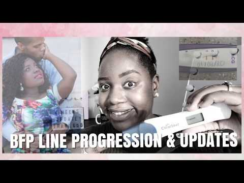 BFP | Ovulation Tests & Pregnancy Progression Line 2020
