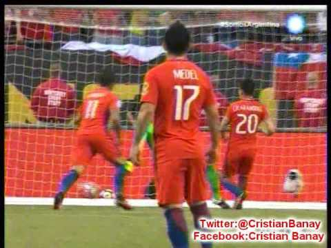 (Relator Enojado) Chile 2 Colombia 0 (Radio Far) Copa America Centenario 2016