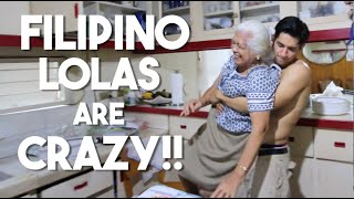 When Filipino Lolas Do This! (HILARIOUS MUST WATCH!!!!)