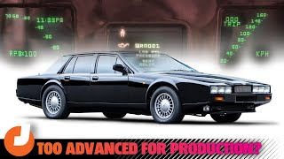 homepage tile video photo for The Aston Martin Lagonda Was A Technological Marvel... When It Worked