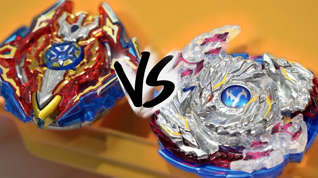 BATTLE: Nightmare Longinus .Ds VS Sieg Xcalibur .1.Ir - Beyblade Burst God/Evolution!
