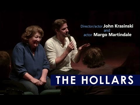 THE HOLLARS - Q&A with director/actor John Krasinski and  actor Margo Martindale