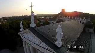 2014 07 29 DJI Phantom 2 Vision plus Vilniaus katedra