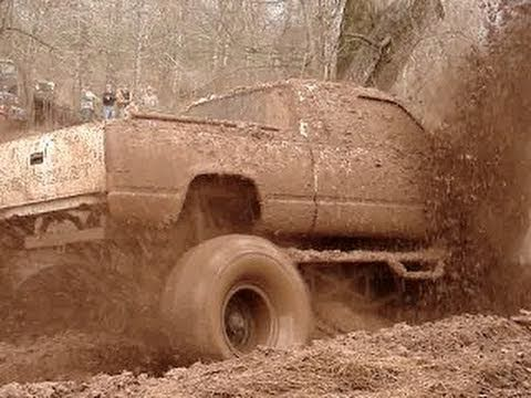 Mud Trucks Bounty Hole At Red River Mud Bog Part 2