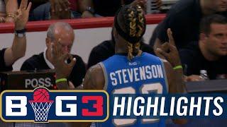 Ghost Ballers vs Power | BIG3 HIGHLIGHTS thumbnail
