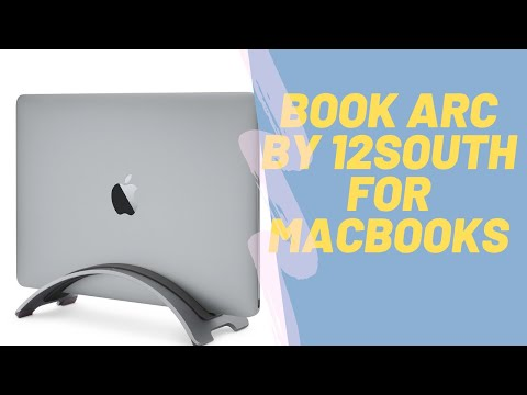 BEST STAND FOR MACBOOKS:12 TWELVE SOUTH BOOK ARC : UNBOXING & REVIEW