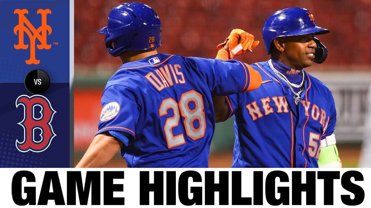 J.D. Davis' two-run homer leads Mets to win   7/28/20