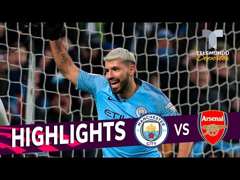Manchester City vs. Arsenal: 3-1 Goals & Highlights | Premier League | Telemundo Deportes