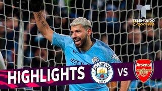 Manchester City vs. Arsenal: 3-1 Goals & Highlights | Premier League | Telemundo Deportes