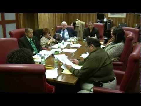 PACE & Parking Authority of the City of Elizabeth (NJ) Regular Meetings of April 11, 2012