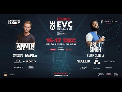 Arijit singh upcoming live evc india December 2017 with robin schulz nucleya dj chetas shirley setia