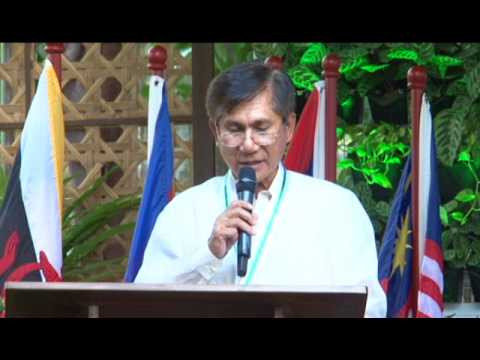 Sec Roy Cimatu's speech during the launching of the ASEAN Center for Biodiversity