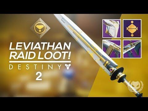 Destiny 2: Leviathan Raid Loot! New Vendor!