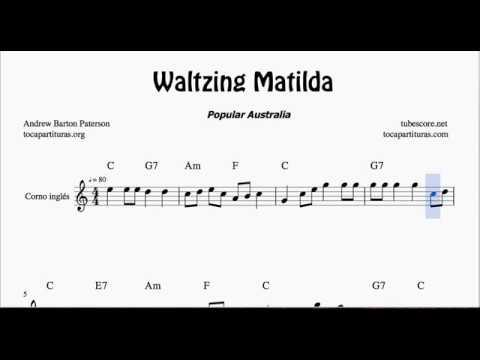 Waltzing Matilda Sheet Music for English Horn
