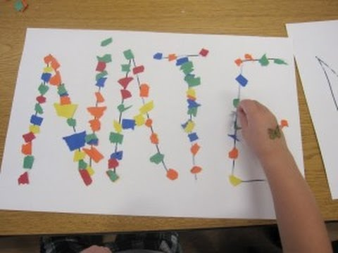 art and craft for kindergarten ideas preschool name activity cullen s abc s 7388