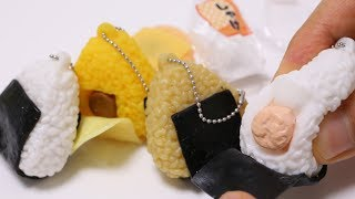 Mini Onigiri Squishy Squeeze Toys