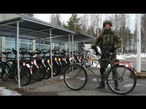 Finnish Jaeger Light Bicycle Infantry (LBI) In WW2 & Today