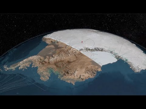 What Would Antarctica Look Like If All The Ice Melted?