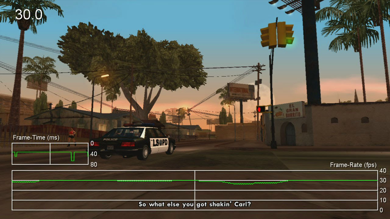 GTA: San Andreas HD on Xbox 360 is a mobile port • Eurogamer net