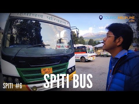 RECKONG PEO TO KAZA (SPITI) : HIMACHAL ROADWAYS - HRTC  (Part 1)