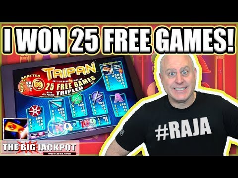 25 FREE GAMES JACKPOT ✦ Taipan Slot Machine - The Big Jackpot - 동영상